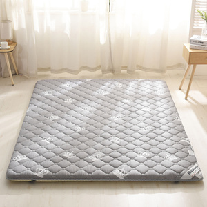 全棉防滑<span class=H>床垫</span>保护垫榻榻米加厚双人1.5米1.8m<span class=H>床褥</span>子家用薄垫被1.2