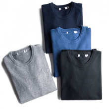 Men's Cashmere Sweater New Type Wool Round-collar Men's Sweater Young Men's Knitted Wool Sweater in Autumn and Winter
