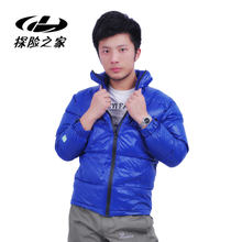 Outdoor outdoor super light down jacket, white feather down jacket, men's clothing, down jacket.