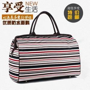 女手提包<span class=H>旅行袋</span>帆布旅行包大容量防水学生行李包袋短途男旅游包潮