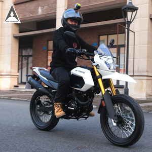 安第斯越野<span class=H>摩托车</span>跑车整车龙翔士150cc山地车炫酷街车跨骑式燃油