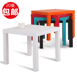 宜家现代<span class=H>茶几</span>简约客厅家居小户型方桌简易木桌子经济型茶桌家用桌