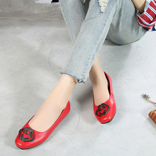Spring and Autumn New Soft-soled Women's Shoes