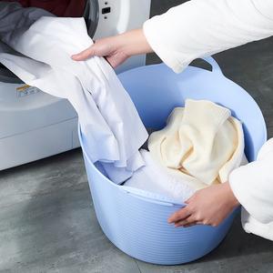 时尚创意脏衣篓脏衣篮 洗衣篮收纳篮<span class=H>收纳桶</span> 收纳筐 整理篮