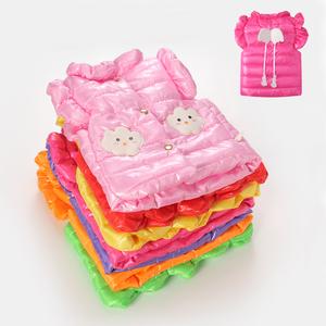 兒童馬甲新款潮<span class=H>時尚</span>秋冬季背心時髦公主女童韓版羽絨棉服寶寶外套