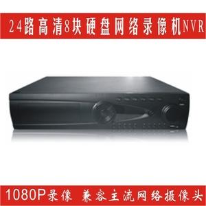 高清网络监控录像机32路1080P NVR高端8盘位工程监控方案系统设备
