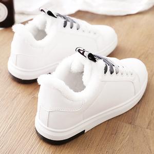 2017新款棉<span class=H>鞋</span>女冬季<span class=H>鞋</span>子学生冬<span class=H>鞋</span>韩版百搭运动板<span class=H>鞋</span>保暖加绒小白<span class=H>鞋</span>