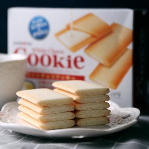 日本进口零食三立cookie<span class=H>巧克力</span>夹心薄脆饼干<span class=H>曲奇</span>饼干独立片装12枚