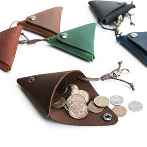 零钱包女士拉链复古真皮学生小钱包短款硬币包迷你收纳钱包男