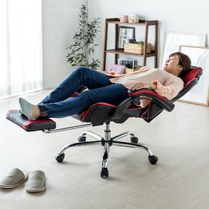 日本SANWA<span class=H>赛车</span>椅子 带脚踏附腰靠带<span class=H>头枕</span>170度游戏椅可躺转椅<span class=H>座椅</span>