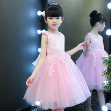 Princess Skirt Girl Pink New Kids Garment Skirt Kids Dress Dress Dress Summer Girl Style Skirt