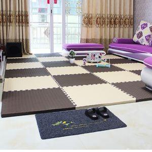 拼接拼图木纹<span class=H>地板</span>卧室寝室学生宿舍泡沫海绵地毯方块地垫子满铺贴