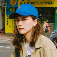Korean soft-top baseball cap for men and women with sunshade and curved eaves and duck tongue cap