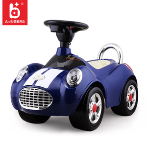 A+B宝宝带音乐<span class=H>扭扭车</span>1-3岁儿童滑行助步车<span class=H>玩具</span>车可坐人摇摆溜溜车