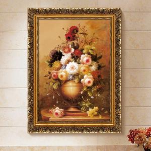 欧式有框古典画装饰画客厅画餐厅玄关挂画家居壁挂画喷绘仿真<span class=H>油画</span>