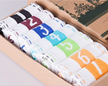 Daily Weekly Socks Lazy Men's Socks Non-cotton Men's Sports Socks Fast-drying Air-permeable Cotton Socks
