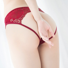 Buy 3 minus 1 sexy lace underwear T pants, dew P T-shaped sexy underwear, passionate underwear suit for women