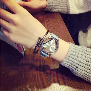 情侣<span class=H>手表</span>男时针女分针生日创意礼物时尚个性韩版三角学生男女