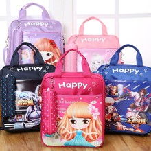 Children's Guidance Course Travel Shoulder Pack Children's School Pack Girls Second Grade Stationery Girls Dual Use Korean Style