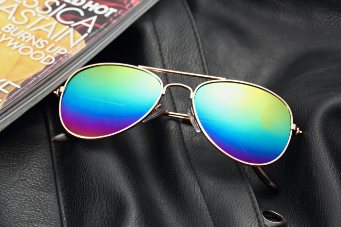 The RayBan the sun mirror men and women's child's sunglasses nearsighted sun mirror vogue revives old customs tide sunglasses RJ - intl