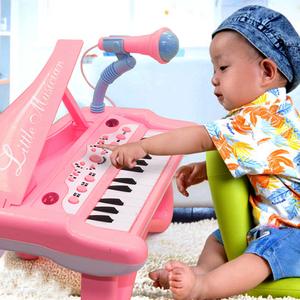 <span class=H>婴</span><span class=H>幼儿</span>童电子琴<span class=H>玩具</span>小钢琴可充电带麦克风<span class=H>早教</span>1-3-5女孩音乐<span class=H>玩具</span>