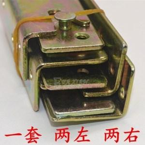 安装床插销床挂组合<span class=H>家具</span>侧边床铰链床配件 连接件 五金家用固定