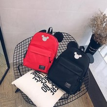 Pupil Oxford Soft Pencil Box Girls Shoulder Bags Kindergarten Children Canvas Bags Boys Waterproof Stationery