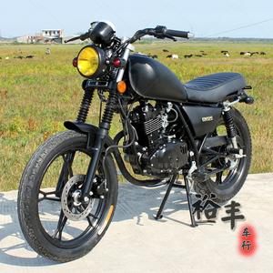 铃木125摩托<span class=H>整车</span>四冲程复古太子车骑式跨式街车助力<span class=H>摩托车</span>燃油车