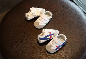 真皮男女宝宝鞋子春秋季0-3岁婴儿学步鞋