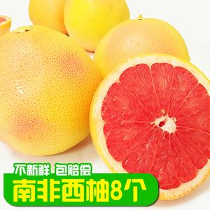现货 南非西柚 8个红心西柚孕妇当季水果 进口葡萄柚水果包邮新鲜