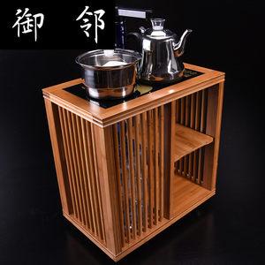 竹制茶车移动茶台实木中式茶水柜小<span class=H>茶柜</span>架现代简约多功能客厅家用