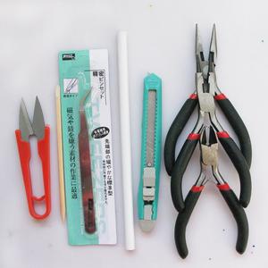鑷子 裁紙刀 剪刀 裁紙刀 <span class=H>珠寶</span>鉗 鉗子 diy飾品材料包貼鉆工具
