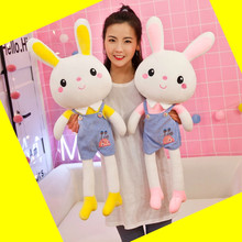 Rabbit plush toy net red doll big bed cloth doll girl lovely accompany you sleeping pillow sleeper super soft bud