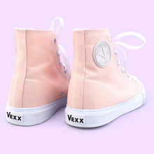 Vexx Women's Shoes New Spring High-Up Canvas Shoes for Female Students Small White Shoes, Leisure Shoes, Board Shoes, Port Version Baitao Shoes