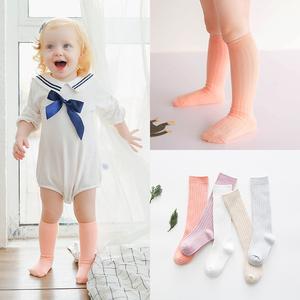 0-1-3岁春季儿童袜子男女童新生儿<span class=H>婴儿袜</span>宝宝袜子纯双针棉中筒袜