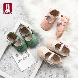犀利兔0—1-3岁婴幼儿鞋子女宝宝公主鞋软底防滑学步夏季魔术贴