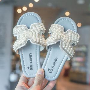 女童<span class=H>拖鞋</span>2019夏季新款外穿时尚儿童凉拖软底小公主鞋防滑洋气凉鞋