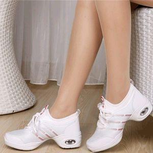 18年新款奥如<span class=H>舞蹈鞋</span>女成人跳舞鞋子夏季软底中跟广场舞女鞋2017新