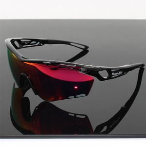 骑行眼镜偏光户外高清太阳镜夜视运动防<span class=H>风镜</span>山地自行车摩托TR90框