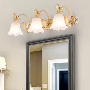 欧式<span class=H>镜前灯</span>卫生间led镜子灯洗手间壁灯卫浴厕所洗手台灯具