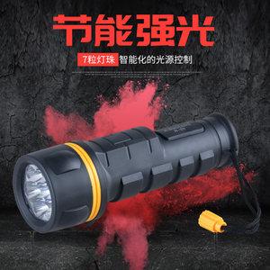 装2节1号干<span class=H>电池</span><span class=H>手电筒</span>强光 家用应急老式怀旧LED节能防水防摔电筒