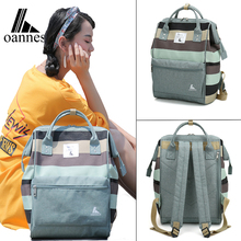 Oannes 2018 New Japan and Korea schoolbags University students Campus shoulder bags large capacity Backpack Travel runaway bags