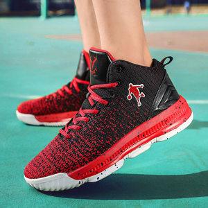 新款<span class=H>篮球鞋</span>毒液5球鞋<span class=H>男鞋</span>高帮运动鞋夏季网面透气减震中学生战靴