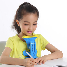 Eye stereotyping desk students straighten sitting orthosis training device children's neck correction correction homework
