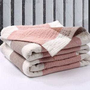 <span class=H>毛巾</span>被<span class=H>毯</span>纯棉加厚纱布水洗棉单人<span class=H>双人</span>包邮床单可铺可盖