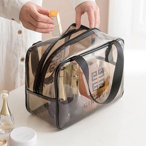 <span class=H>化妆包</span>女便携化妆品收纳盒ins风超火洗澡包旅行收纳袋男士洗漱包