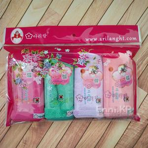 韩国 珊瑚绒毛巾 挂式方巾 超吸水柔软小毛巾 多功能清洁居家日用