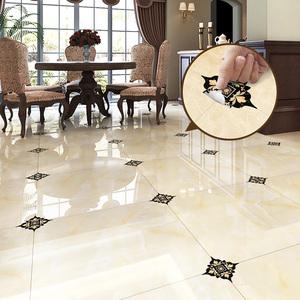 地面防水耐磨<span class=H>墙贴</span>自粘客厅卧室卫生间装饰地贴地板贴纸瓷砖对角贴