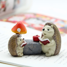 If you create Mini animals, small ornaments, flowerpots, home accessories, lovely cartoon gardening accessories, small hedgehog.