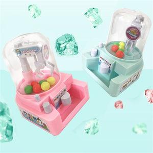 儿童迷你抓娃娃 夹球机小型夹娃娃机 夹糖果机抓捕机桌面游戏玩具